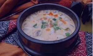 طرز تهیه سوپ جو سفید , سوپ جو سفید , طرز تهیه سوپ جو سفید در ماکروویو