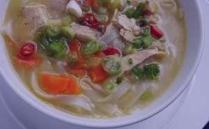 سوپ مرغ و سبزیجات , طرز تهیه سوپ مرغ و سبزیجات , روش پخت سوپ مرغ و سبزیجات