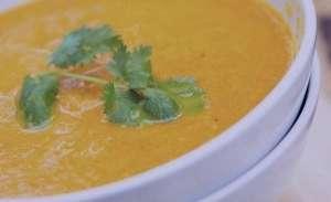 سوپ گشنیز , طرز تهیه سوپ گشنیز , روش پخت سوپ گشنیز