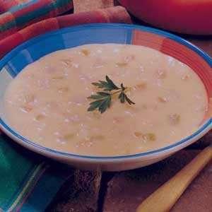 سوپ پنیر , طرز تهیه سوپ پنیر , روش پخت سوپ پنیر