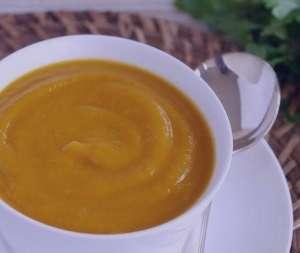 سوپ کدو تنبل , طرز تهیه سوپ کدو تنبل , روش پخت سوپ کدو تنبل