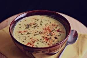 طرز تهیه سوپ ماست , سوپ ماست , روش پخت سوپ ماست