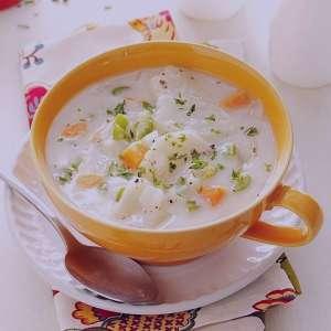 سوپ سیب زمینی , طرز تهیه سوپ سیب زمینی , روش پخت سوپ سیب زمینی