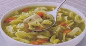 طرز تهیه سوپ ماکارونی فرمی , سوپ ماکارونی فرمی , سوپ ماکارونی