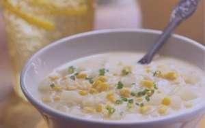 سوپ ذرت , طرز تهیه سوپ ذرت , روش پخت سوپ ذرت