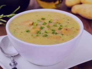 طرز تهیه سوپ سیب زمینی و جو پرک , سوپ سیب زمینی و جو پرک , روش پخت سوپ سیب زمینی و جو پرک