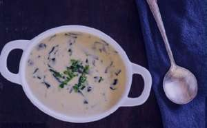 طرز تهیه سوپ تره فرنگی , سوپ تره فرنگی , روش پخت سوپ تره فرنگی