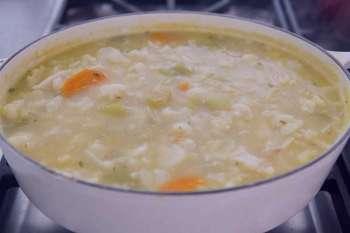 سوپ گل کلم و پنیر چدار , طرز تهیه سوپ گل کلم و پنیر چدار , دستور پخت سوپ گل کلم و پنیر چدار