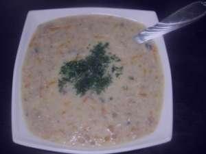 سوپ شیر , طرز تهیه سوپ شیر , روش پخت سوپ شیر