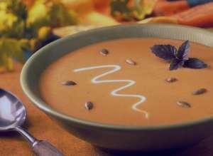 طرز تهیه سوپ کدو حلوایی , سوپ کدو حلوایی , روش پخت سوپ کدو حلوایی
