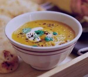 سوپ بادمجان , طرز تهیه سوپ بادمجان , روش پخت سوپ بادمجان