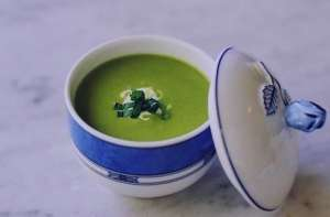 طرز تهیه سوپ نخود فرنگی با رزماری , طرز تهیه سوپ نخود فرنگی , سوپ نخود فرنگی