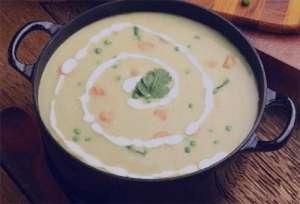 سوپ جو با شیر , طرز تهیه سوپ جو با شیر , روش پخت سوپ جو با شیر
