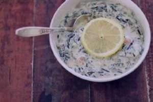 سوپ اسفناج و قارچ , طرز تهیه سوپ اسفناج و قارچ , روش پخت سوپ اسفناج و قارچ