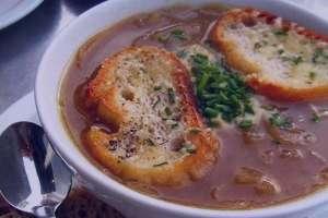 طرز تهیه سوپ پیاز , سوپ پیاز , روش پخت سوپ پیاز