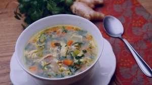 طرز تهیه سوپ ضد سرماخوردگی , سوپ ضد سرماخوردگی , سوپ سرماخوردگی