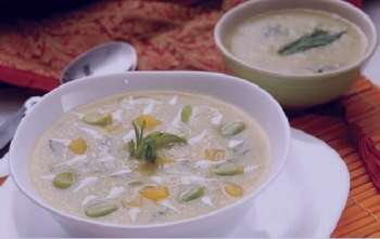 سوپ باقالا , طرز تهیه سوپ باقالا , روش پخت سوپ باقالا