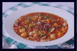 سوپ گوشت و رشته , طرز تهیه سوپ گوشت و رشته , روش پخت سوپ گوشت و رشته