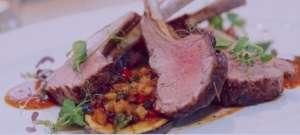 خوراک راسته گوسفند , طرز تهیه خوراک راسته گوسفند , دستور پخت خوراک راسته گوسفند