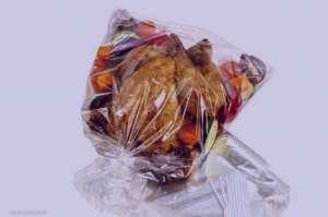 خوراک مرغ در کیسه تنورک , طرز تهیه خوراک مرغ در کیسه تنورک , مرغ در کیسه تنورک