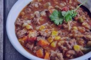 طرز تهیه خوراک گوشت و جو , خوراک گوشت و جو , خوراک گوشت