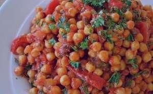 طرز تهیه خوراک نخود کردستانی , خوراک نخود کردستانی , خوراک نخود