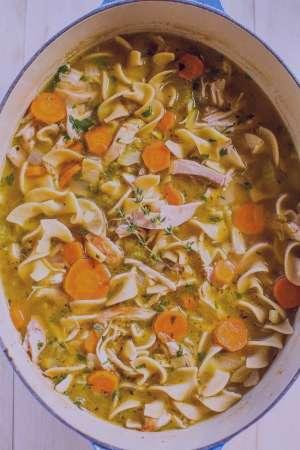 طرز تهیه سوپ ماکارونی , سوپ ماکارونی , روش پخت سوپ ماکارونی