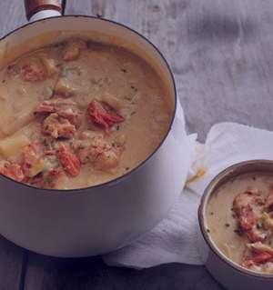 سوپ چیزبرگر آمریکایی , طرز تهیه سوپ چیزبرگر آمریکایی , روش پخت سوپ چیزبرگر آمریکایی