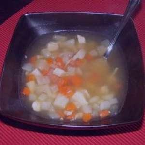 طرز تهیه سوپ سیب زمینی به روش چینی , سوپ سیب زمینی به روش چینی , سوپ سیب زمینی چینی