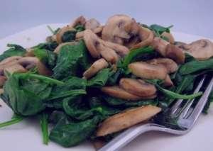 طرز تهیه خوراک اسفناج و قارچ چینی , خوراک اسفناج و قارچ چینی , خوراک اسفناج و قارچ