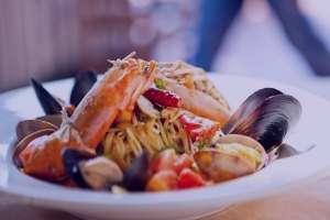 طرز تهیه خوراک میگو ایتالیایی , خوراک میگو ایتالیایی , خوراک میگو