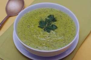 سوپ کاهو  , طرز تهیه سوپ کاهو , روش پخت سوپ کاهو