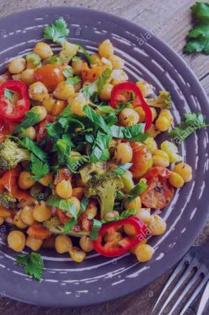 طرز تهیه خوراک سبزیجات تند رژیمی , خوراک سبزیجات تند رژیمی , خوراک سبزیجات رژیمی