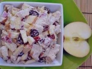 سالاد سیب درختی , طرز تهیه سالاد سیب درختی , روش تههی سالاد سیب درختی