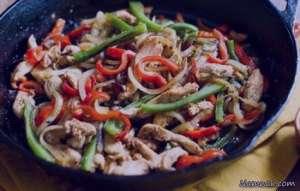 خوراک مرغ و سبزیجات , طرز تهیه خوراک مرغ و سبزیجات , دستور پخت خوراک مرغ و سبزیجات