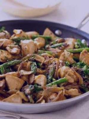 طرز تهیه خوراک مرغ و قارچ رژیمی , خوراک مرغ و قارچ رژیمی , خوراک مرغ و قارچ
