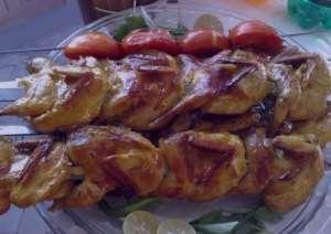 طرز تهیه خوراک بلدرچین در فر , طرز تهیه خوراک بلدرچین ,  خوراک بلدرچین