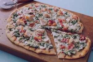 طرز تهیه پیتزای سبز با ماهی , پیتزای سبز با ماهی , پیتزا با ماهی