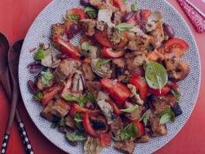 طرز تهیه سالاد ایتالیایی با مرغ , سالاد ایتالیایی با مرغ , دستور تهیه سالاد ایتالیایی با مرغ