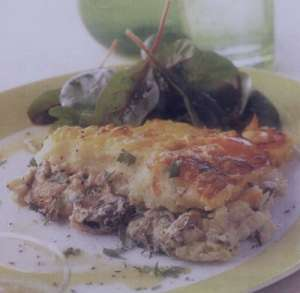 طرز تهیه سوفله ماهی , سوفله ماهی , روش پخت سوفله ماهی