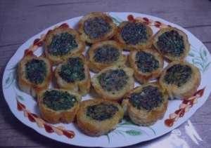 طرز تهیه کوکو سبزی با نان تست , کوکو سبزی با نان تست , کوکو سبزی در نان تست