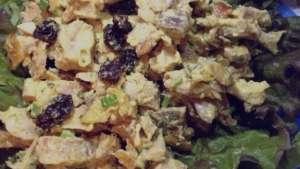 طرز تهیه سالاد مرغ با بادام زمینی و جعفری , سالاد مرغ با بادام زمینی و جعفری , سالاد مرغ با بادام زمینی