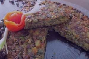 طرز تهیه کوکو لوبیا سبز و هویج , کوکو لوبیا سبز و هویج , دستور پخت کوکو لوبیا سبز و هویج