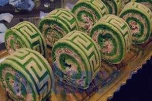 طرز تهیه رولت کوکو سبزی , رولت کوکو سبزی , روش تهیه رولت کوکو سبزی