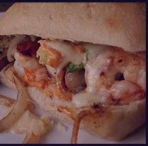 طرز تهیه ساندویچ میگو , ساندویچ میگو , دستور تهیه ساندویچ میگو