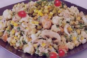 طرز تهیه سالاد ماهی سفید , سالاد ماهی سفید , دستور تهیه سالاد ماهی سفید