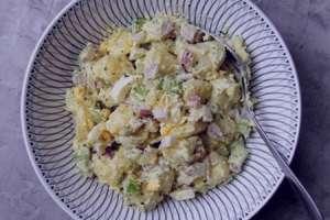 طرز تهیه سالاد سیب زمینی و مرغ , سالاد سیب زمینی و مرغ , دستور تهیه سالاد سیب زمینی و مرغ