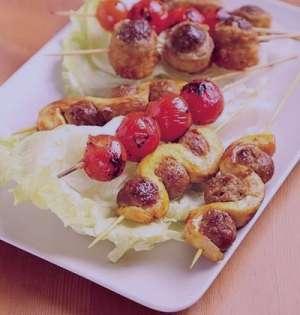 طرز تهیه کوفته کبابی گوشت و مرغ , کوفته کبابی گوشت و مرغ , روش پخت کوفته کبابی گوشت و مرغ