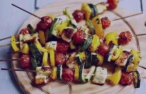 طرز تهیه کباب سبزیجات یونانی , کباب سبزیجات یونانی , دستور پخت کباب سبزیجات یونانی