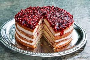 طرز تهیه کیک انار , کیک انار , کیک انار شب یلدا